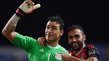 Essam El Hadary, l'artisan de la victoire égyptienne.   ©AFP