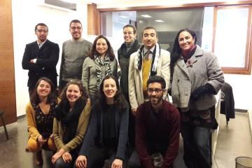 Les membres de l'Espace Bidayaen compagnie de l'entrepreneuse Khadija Idrissi (troisième debout à partir de la gauche)