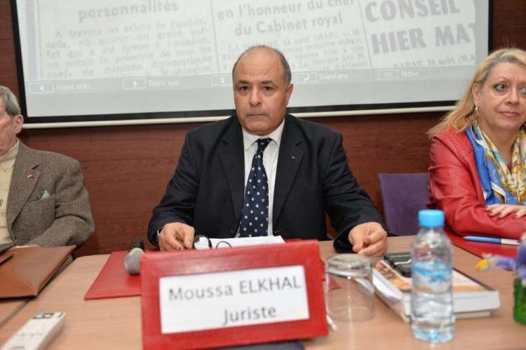 Moussa Elkhal, juriste
