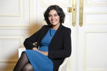 Myriam El Khomri, ministre française du Travail, de l'Emploi, de la Formation Professionnelle et du Dialogue Social.