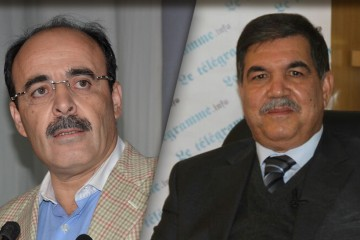 Ilyas El Omari, président de la région Tanger-Tétouan-Al Hoceima et   Brahim Hafidi, président de la Région Souss Massa.