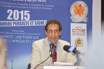 Abderrahim Khouibaba, président de la Chambre de Commerce et d'Industrie Al Maghreb au Canada