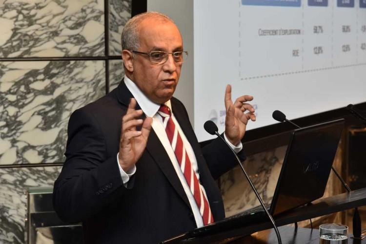 Driss Benjelloun, directeur général délégué en charge des Finances & Risques Groupe