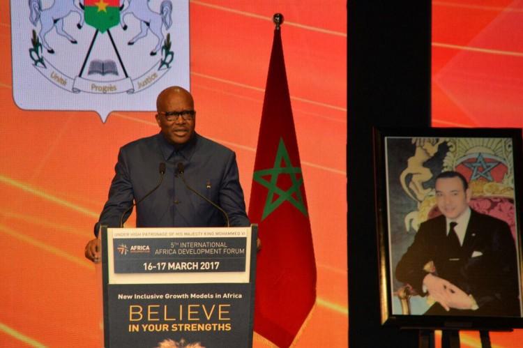 Roch Marc Christian Kaboré, président du Burkina Faso