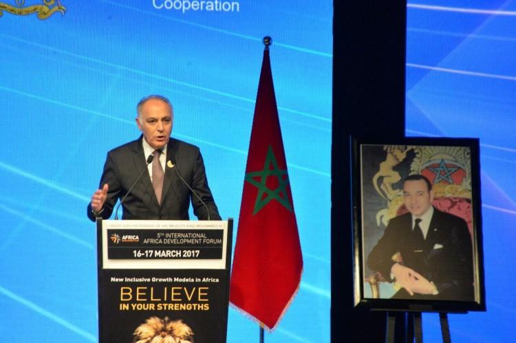 Salaheddine Mezouar, ministre des Affaires Etrangères et de la Coopération