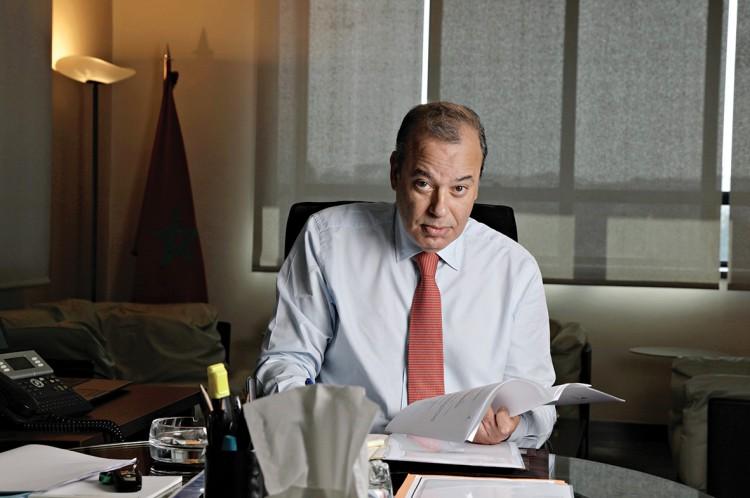 Omar Faraj, DG de la Direction Générale des Impôts