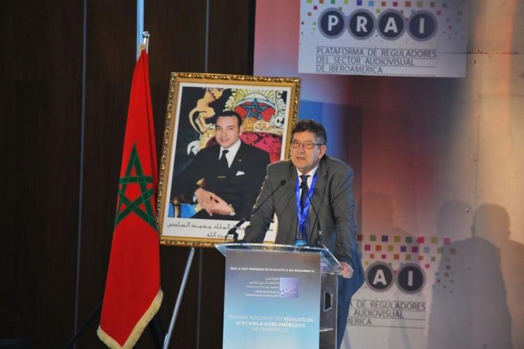 Carlos Magno, président de l'Entidade Reguladora para o Comunicação Social (HACA portugaise)