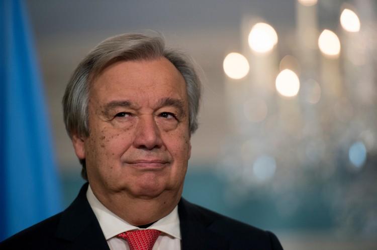 Antonio Guterres, SG de l'ONU