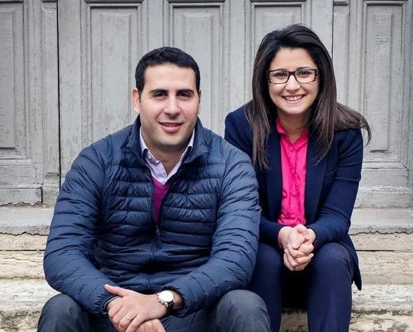 Bayrem Fouadhaili, directeur technique et Asma Ben Jemaa, présidente de Jwebi