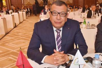 Kamal Lahlou, vice-président du Comité National Olympique Marocain (CNOM)