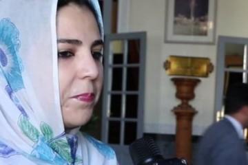 Rkia Derham, secrétaire d'Etat chargée du Commerce Extérieur