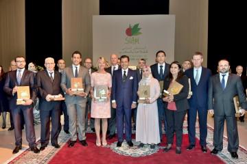 SAR Prince Moulay Rachid en compagnie des lauréats