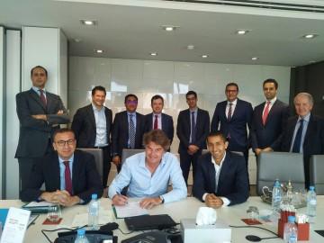 Brahim El Jaï, DG, Gerben Dijkstra, directeur des investissements d'Investec Asset Management et Hatim Ben Ahmed, Founding Partner au Fonds Mediterrania Capital Partners