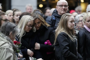 Stockholm Minute of silence