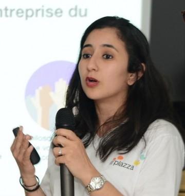 Warda Douhari, responsable communication digitale interne de Orange