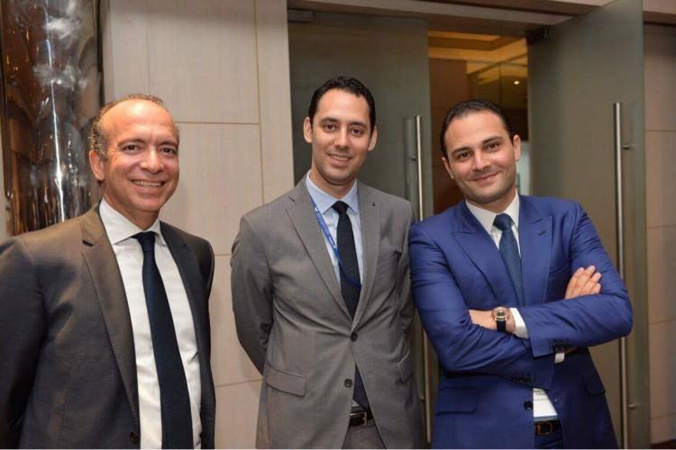 A gauche : Hassan Boubrik, président de l'ACAPS A droite : Moulay Mhamed Elalamy, PDG de Saham Assurance