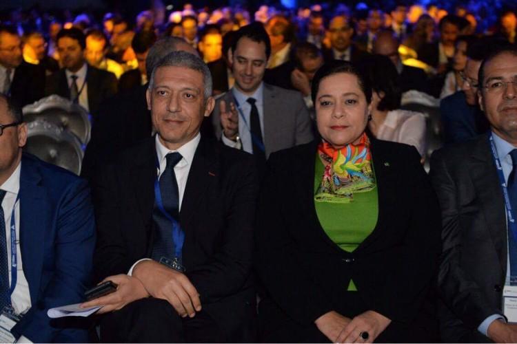 Mohamed Hassan Bensalah, président de la FMSAR et Miriem Bensalah-Chaqroun, présidente de la CGEM