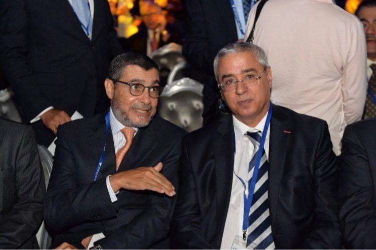 Saïd Brahimi, DG de Casablanca Finance City et Khalid Cheddadi, PDG de la CIMR