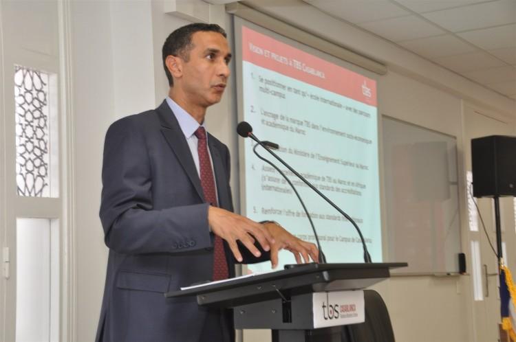 Mohamed Derrabi, directeur du campus TBS Casablanca