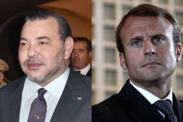Mohammed VI Macron 1