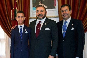 SAR Moulay El Hassan, SM Mohammed VI et SAR Moulay Rachid