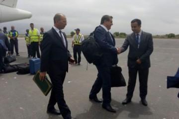 Mohamed Hassad, ministre de l'Éducation Nationale et Aziz Akhannouch, ministre de l'Agriculture