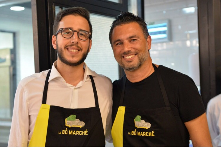 Smail Haddioui et Mehdi Hsissen, propriétaires