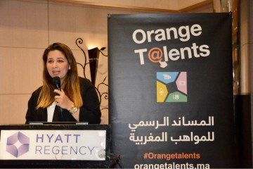 Sakina El Fares, directrice communication et marque de Orange Maroc