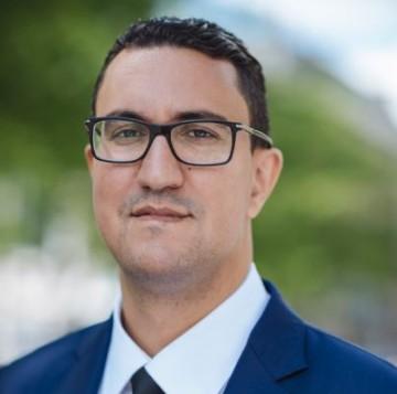 M'jid El Guerrab, candidat aux législatives françaises de 2017
