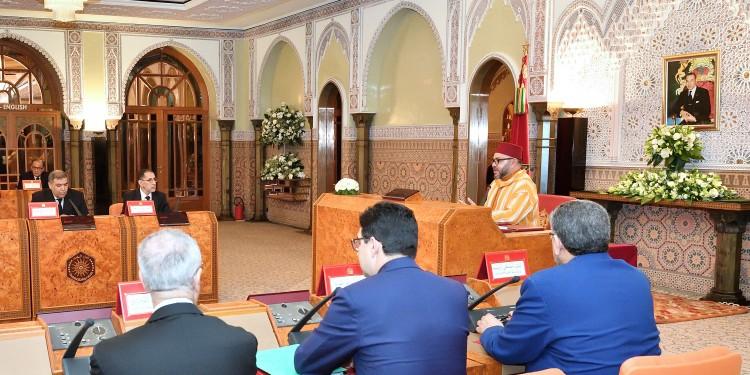 SM le Roi Mohammed VI Conseil des Ministres