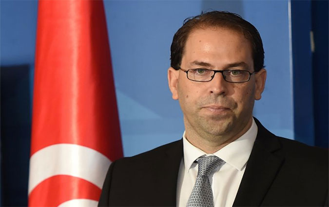Youssef Chahed, chef du gouvernement tunisien
