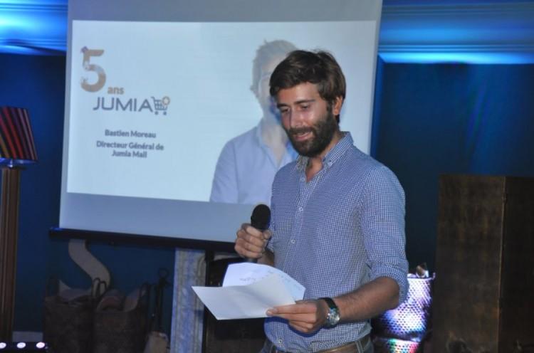 Bastien Moreau, DG de Jumia