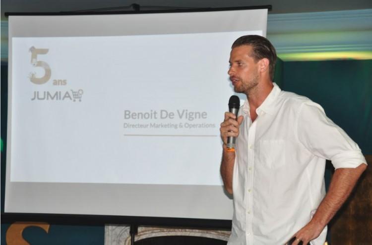 Benoit De Vigne, chef Operations & Marketing Officer de Jumia