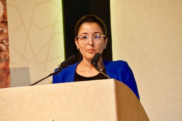 Hanane Aajli, directrice du Pôle Accompagnement du Développement Agricole du Crédit du Maroc