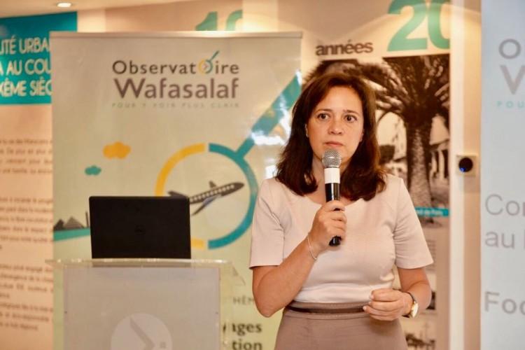 Laila Mamou, présidente du directoire de Wafasalaf