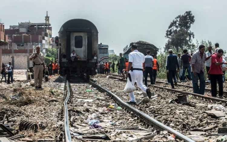 Egypte Accident Train