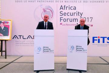 Driss Benomar, président de Atlantis et Alain Jallet, président de FITS