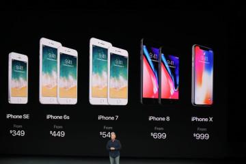 Apple Keynote 2017 iPhone 8 iPhone X
