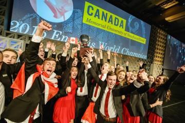 Canada, vainqueur de la World Cup Enactus 2016