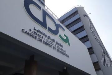 Le siège de la CDG sis à Rabat arbore désormais un nouveau logo.