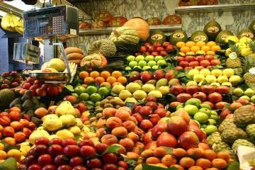L'IPC des fruits a augmenté de 5,5% entre août et septembre 2017.