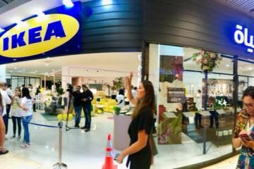 Le premier magasin Pop-Up de Ikea  au Maroc a ouvert le 13 octobre 2017 à Casablanca.