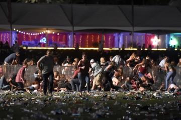 La fusillade s'est déroulée lors d'un concert en plein air.