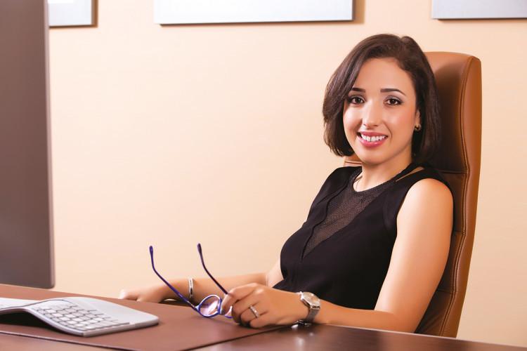 Nada Oudghiri,  Fondatrice et gérante du cabinet d'architecture NOA STUDIO