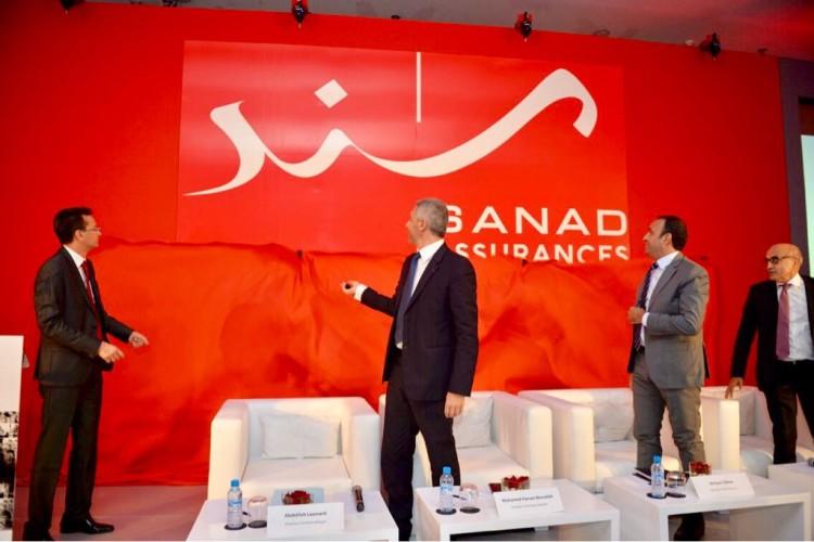Abdelilah Laamarti, DG délégué, Mohamed Hassan Bensalah, PDG, Hicham Tabine, directeur du Pôle Finances et Abderrahim Boumahdi, directeur du Pôle Commercial de Sanad