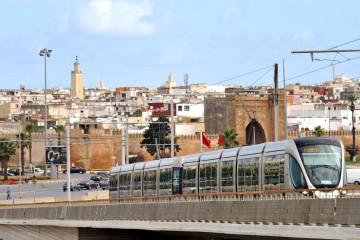 Les Citadis pour Rabat-Salé, d'une longueur de 32 mètres, seront couplés pour transporter jusqu'à 606 passagers.