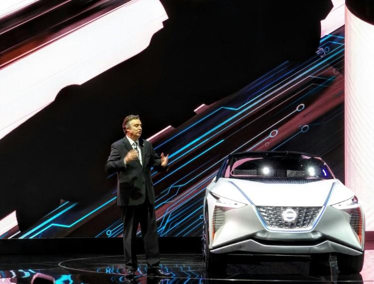 Daniele Schillaci, vice-président exécutif de Nissan