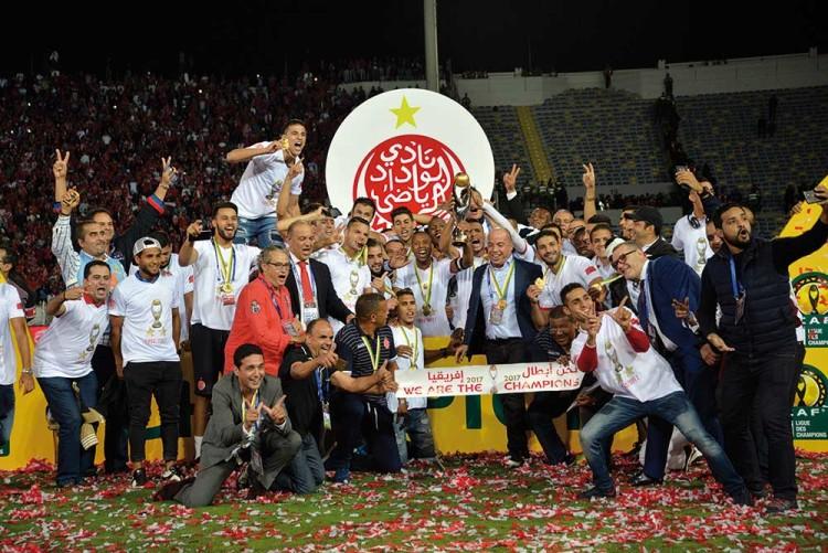 Le WAC a remporté face à Al Ahly la Ligue des Champions de la CAF 2017.