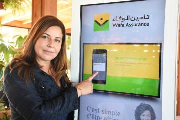 Monia El Hassar, directrice Communication Externe et Relations Publiques de Wafa Assurance