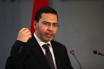 Mustapha El Khalfi, ministre chargé des relations avec le parlement et la société civile, porte-parole du gouvernement